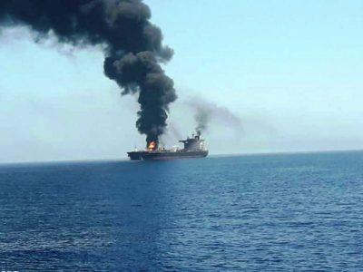 کشتی رژیم صهیونیستی در دریا هدف قرار گرفت/آیا پای پهباد ۷ هزار کیلومتری ایران در میان است