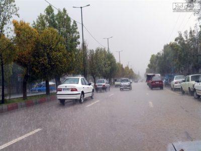 بارش باران در برخی نقاط لرستان پیشبینی می شود
