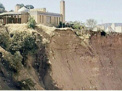 خطرتخریب و ریزش زمین زیرپای گلزار شهدا/قلب دردمند مردم و خانوادهها